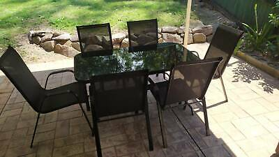 AU100 • Buy Outdoor Dining Set (Table And 6 Chairs)