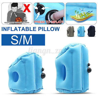 AU13.18 • Buy Inflatable Pillow Rest Cushion Travel Air Neck Camping Comfortable Support   ❤