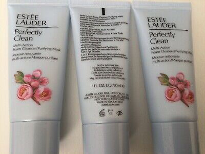 £12.99 • Buy 3x ESTEE LAUDER Perfectly Clean Multi-Action Foam Cleanser 30ml - New  Free P&P