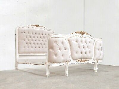 £719 • Buy Rococo Joanna Bed Kingsize  French White Hand Made Brand New