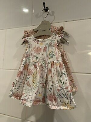 £3 • Buy Next Baby Girl Dress Set Of 2 Size Up To 1 Month