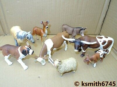 £11.50 • Buy FARM BUNDLE (G498) Solid Plastic Toy Animal Schleich Papo. All Included