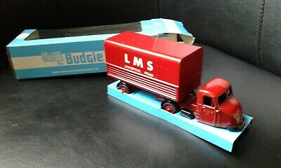 £18.99 • Buy VINTAGE Budgie Toys Articulated LMS Scammel Scarab Mint Boxed Diecast Van Lorry