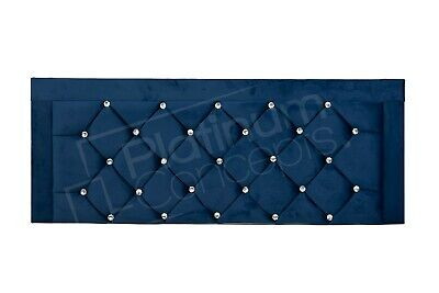 £0.99 • Buy Faux Leather Headboards - Florence - All Sizes Available - Range Of Colours
