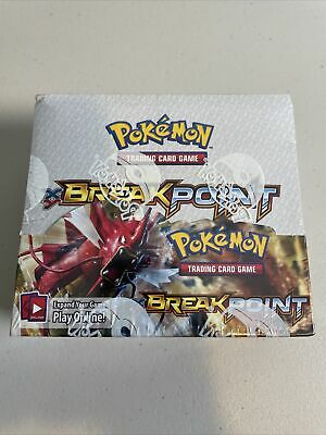 AU153.87 • Buy Pokemon Breakpoint Sealed Authentic XY Booster Box 36 Packs (Small Tear)