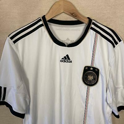 £24.99 • Buy Adidas Mens Germany Home Football Shirt Size Large White Authentic