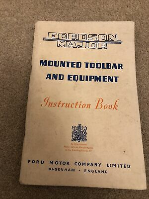 AU18.39 • Buy Fordson Major Implements Book 82pages WOW LOOK!!
