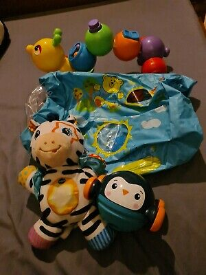 £3.60 • Buy Baby Toy Bundle. Vtech, Inflatable Roller, Fisher Price (5)