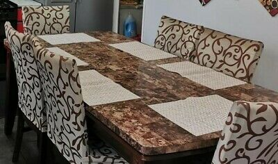 £120 • Buy Marble Dining Table And 6 Chairs Used
