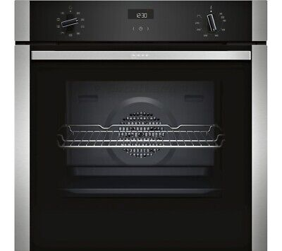 £420 • Buy NEFF B1ACE4HN0B Electric Built In Single  Oven -Stainless Steel  HW175559