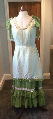 £30 • Buy Edwardian Style Evening Dress Theatrical Stage Costume By Homburgs