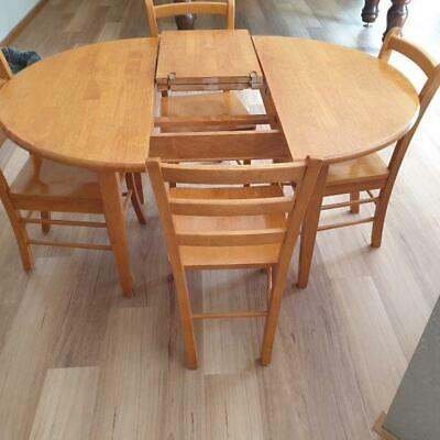 AU200 • Buy Extending Dining Table  With 4 Chairs - Mill Park Vic