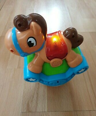 £4 • Buy LeapFrog Roll & Go Baby Rocking Horse Learning Toy, Light & Sound Effects VGC