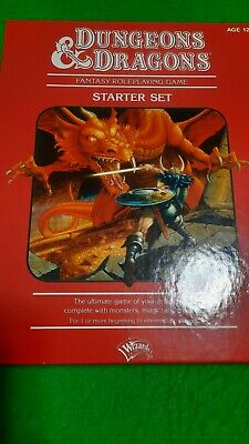 £10.50 • Buy Dungeons And Dragons Fantasy Roleplaying Game Starter Set 4th Edition Vgc