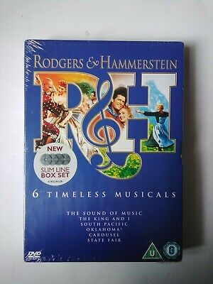 £4.99 • Buy Rodgers And Hammerstein. 6 Timeless Musicals. DVD.   Oklahoma, Carousel  SEALED