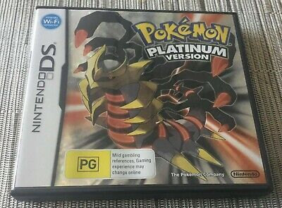 AU51 • Buy Nintendo Ds Pokemon Platinum Version Game - Selling Entire Gaming Collection