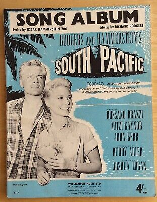 £2.50 • Buy Rodgers And Hammerstein South Pacific Song Album Sheet Music