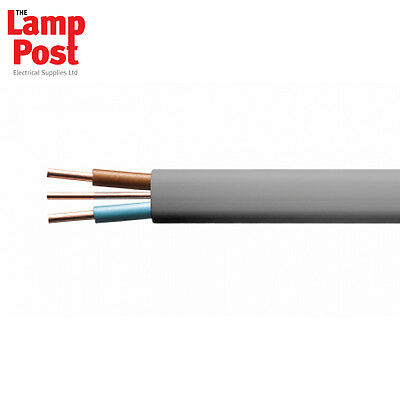 10mm 10.0mm T&E Twin & Earth Electrical Cable 6242Y - ORDER PER METRE • 6.99£