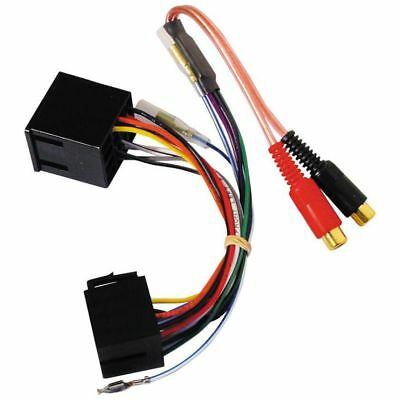 2 Channel Iso To Rca Line Output Convertor Pc9-450 New • 14£