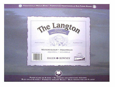 Daler Rowney Langton Watercolour Block - Rough 10  X 7  • 13.49£