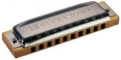 $46.53 • Buy Hohner Blues Harp MS. Harmonica. Available In All Keys
