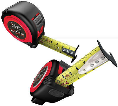 ADVENT UK 5m Metric Only Dual Vice Versa Double Sided Pocket Work Tape Measure  • 10.95£