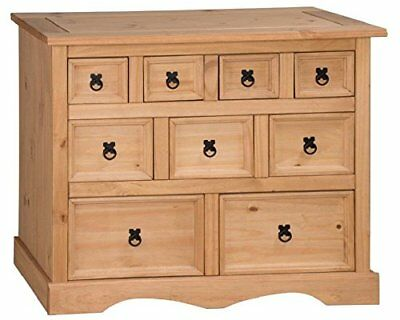 Corona Merchant Chest Of Drawers Mexican Pine 4+3+2 By Mercers Furniture® • 92.85£
