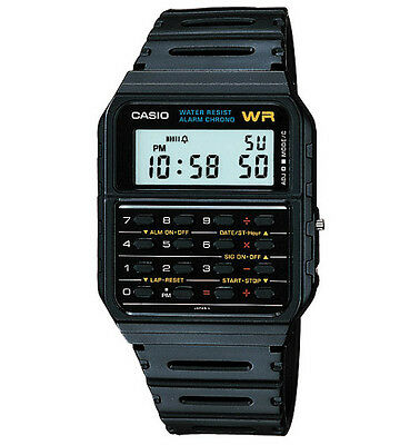View Details Brand New Casio Retro Calculator Watch Ca-53w-1 Ca53w-1  **uk Seller** • 34.00£