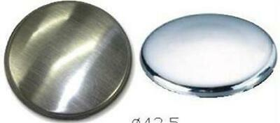 Kitchen Sink Tap Hole Blanking Plug Cover Plate Disk Polished Or Brushed Finish • 4£