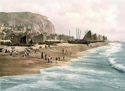 £2.94 • Buy Hastings England ENG Photochrome EPC1067 Poster Art Print A4 A3 A2 A1