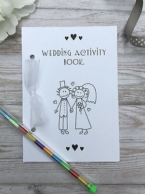 £1.69 • Buy Childrens A6 Wedding Activity Pack Book Bag Party Ideal Gift Favour