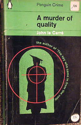 £7.95 • Buy Penguin Book C2271 A Murder Of Quality By John Le Carre 1964 Smiley Thriller