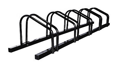 AU54.99 • Buy 1 - 5 Bike Floor Parking Rack Storage Stand Bicycle Black