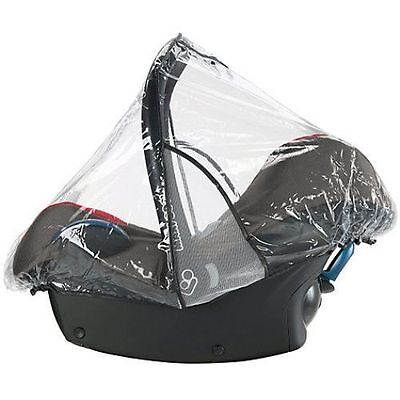 Universal Car Seat Raincover With Ventilation Fits Maxi-cosi Chicco Britax & All • 8.49£