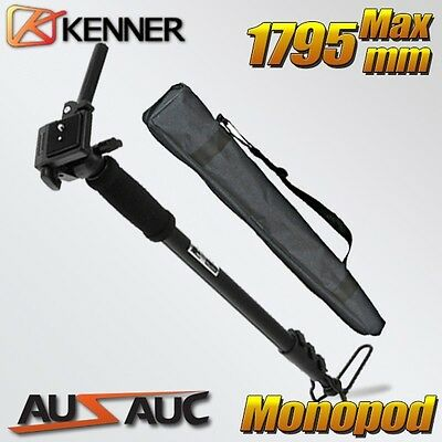 AU24.85 • Buy MONOPOD Tripod For Digital Camera DSLR, MAX 1795mm, OZ STOCK