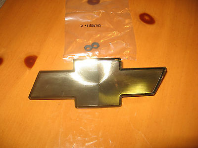 $31.49 • Buy Brand New 1998-2005 Chevy S10 Blazer Gold Front Bow Tie Grille Emblem 15634687