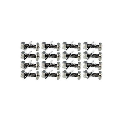 $14.87 • Buy Fits 94-04 MACH 1 CHIN SPOILER HARDWARE STAINLESS STEEL 16 NUT-BOLT-WASHER-SET