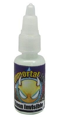 £12.94 • Buy IMMORTAL NEON INVISIBLE UV Black Light 4 Sizes Available Tattoo Ink Supply