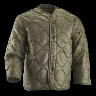 AU25.38 • Buy Us Army Military M-65 Field Jacket Quilted Coat Liner Foliage Green Xx Large M65