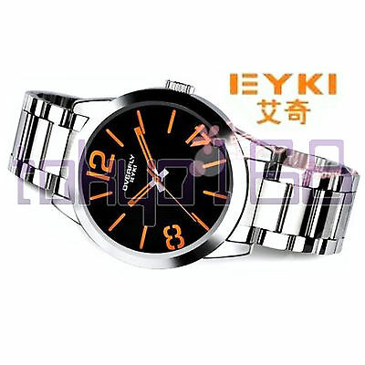 £13.80 • Buy Eyki Overfly Luxury Stainless Steel Silver Analogue Watch BRAND NEW ~tokyo168