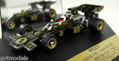 Lotus 72d - 1/43 Scale Model F1 Car By Quartzo - Dave Walker British Gp 72 4023 • 19.99£