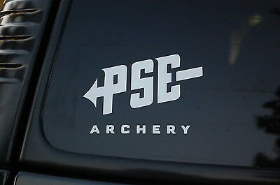 $4.89 • Buy PSE Archery Vinyl Sticker Decal (V104) Choose Color!! Hunt Bow Hunting Truck Car
