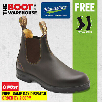 AU139.95 • Buy Blundstone 550 / 650 'Max Comfort' Work Boots, Elastic Sided Non Safety. New!