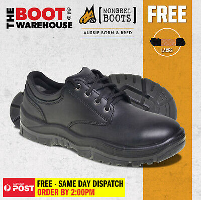 AU116.95 • Buy Mongrel Boots 910025. Non Safety, Black Derby, Executive Work Shoes. Brand New!