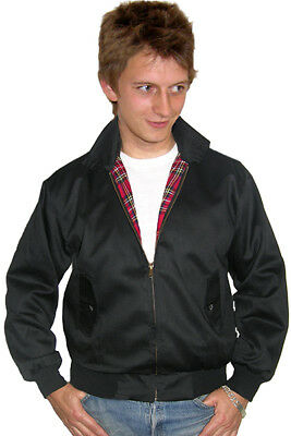 Harrington Bomber Jacket,  In Black By  Relco • 40£
