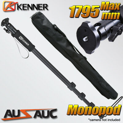 AU26.50 • Buy 1.8M MONOPOD Tripod For Digital Camera DSLR With Bag