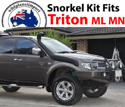 AU127.20 • Buy New Snorkel Kit Air Intake Fits Mitsubishi Triton ML MN 2006 Onwards 4x4 4WD Die