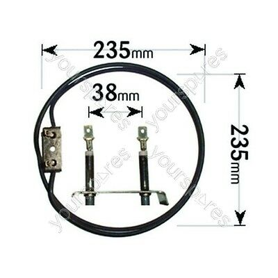 £4.95 • Buy Hotpoint Creda Cannon Belling Cooker Fan Oven Element