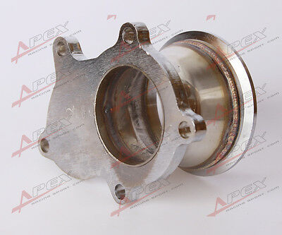 $ CDN58.27 • Buy T3 T3/T4 5 Bolt Turbo Downpipe Flange To 3  V Band Conversion Adaptor