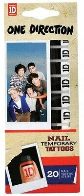 £4.06 • Buy One Direction 'Nail Logo' Temporary Tattoos [Unisex Accessories] Brand New Gift